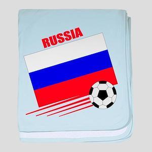 Russia Soccer Team baby blanket