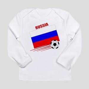 Russia Soccer Team Long Sleeve Infant T-Shirt