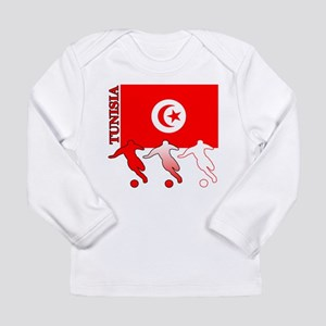 Tunisia Soccer Long Sleeve Infant T-Shirt