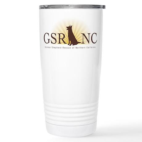 GSRNC Logo Stainless Steel Travel Mug