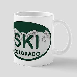 Ski Colo License Plate Mug