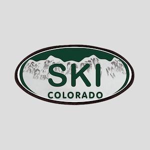 Ski Colo License Plate Patches