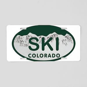 Ski Colo License Plate Aluminum License Plate