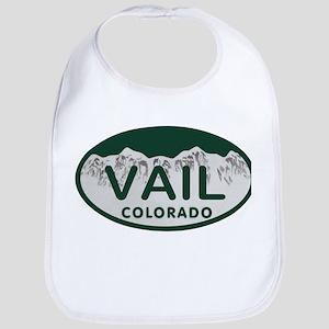 Vail Colo License Plate Bib