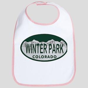 Winterpark Colo License Plate Bib