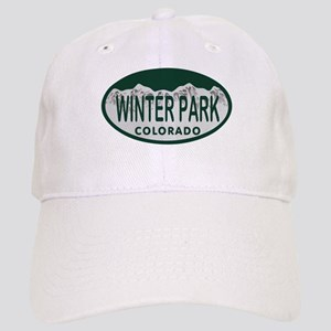 Winterpark Colo License Plate Cap
