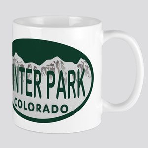 Winterpark Colo License Plate Mug