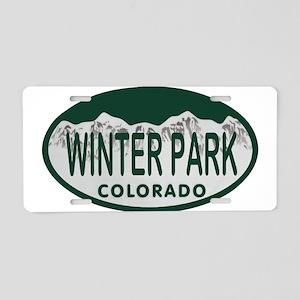 Winterpark Colo License Plate Aluminum License Pla