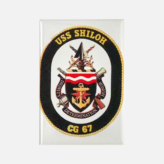 USS Shiloh CG-67 Rectangle Magnet