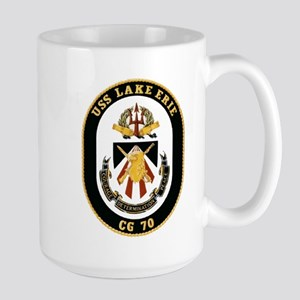 USS Lake Erie CG 70 Large Mug