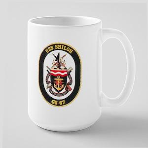 USS Shiloh CG-67 Large Mug