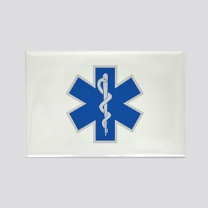 Star of Life Rectangle Magnet