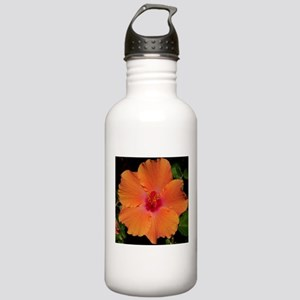 Hibiscus Flower~eccopatterns. Stainless Water Bott