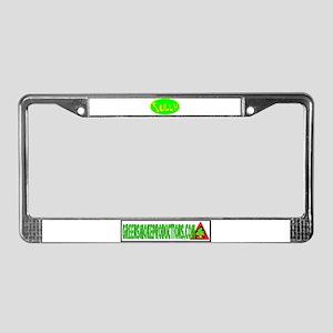 GREEN SMOKE PROD/ SULLY LOGO License Plate Frame