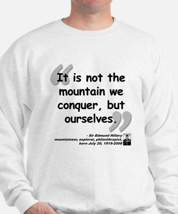 Hillary Conquer Quote Jumper