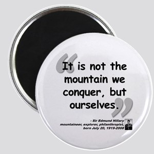 Hillary Conquer Quote Magnet