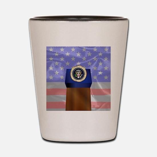 Presidential seal Shot Glass