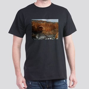 Betatakin Cliff Dwellings Black T-Shirt