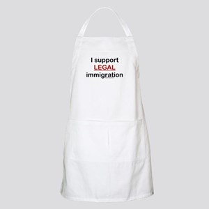 I Support LEGAL Immigration BBQ Apron