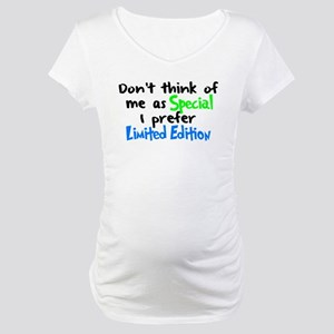 Limited Edition Green/Blue Maternity T-Shirt