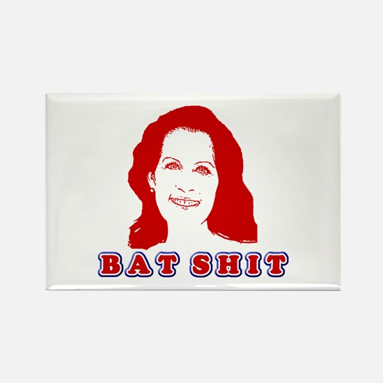 Bat Shit Bachmann Rectangle Magnet