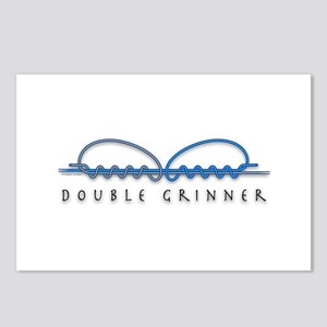 Double Grinner Knot Postcards (Package of 8)