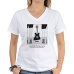 Hoop Dreams Women's V-Neck T-Shirt