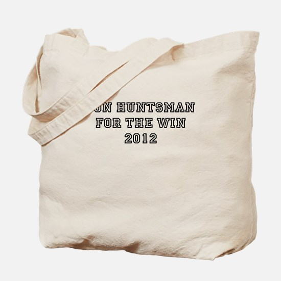 Jon Huntsman For President 20 Tote Bag
