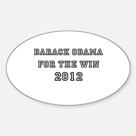 Barack Obama For President 20 Sticker (Oval)