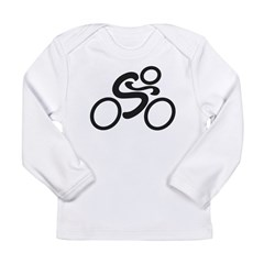 Cycling Long Sleeve Infant T-Shirt