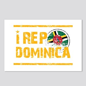 I rep Dominican Postcards (Package of 8)