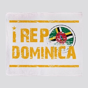 I rep Dominican Throw Blanket