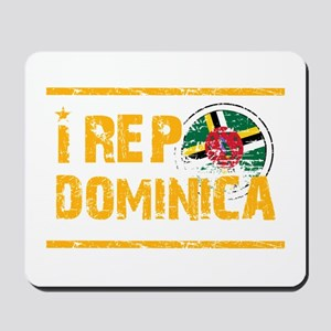 I rep Dominican Mousepad