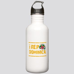 I rep Dominican Stainless Water Bottle 1.0L