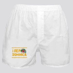 I rep Dominican Boxer Shorts