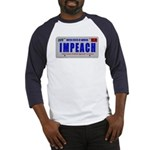 IMPEACH 2-sided Baseball Jersey