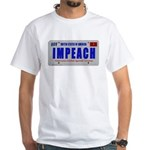 IMPEACH - 2-sided White T