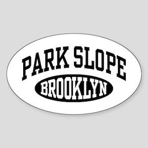 Park Slope Brooklyn Sticker (Oval)