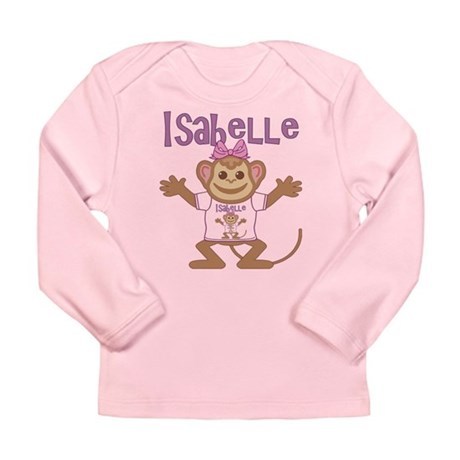 Little Monkey Isabelle Long Sleeve Infant T-Shirt