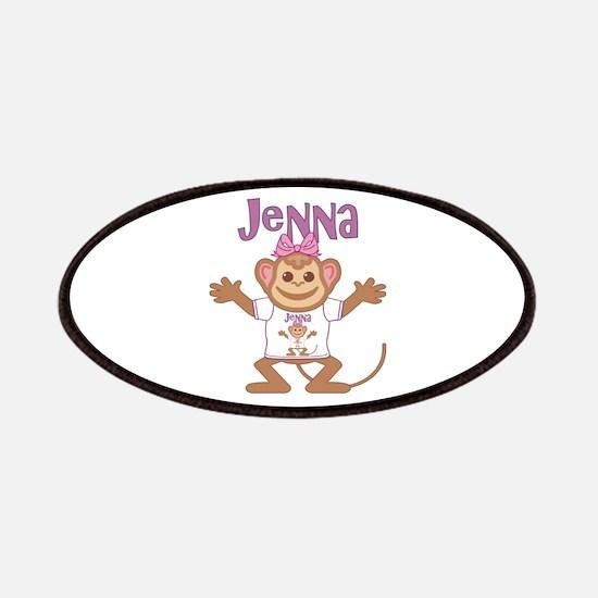 Little Monkey Jenna Patches