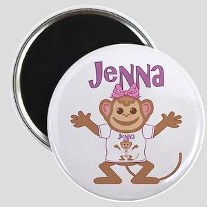 Little Monkey Jenna Magnet