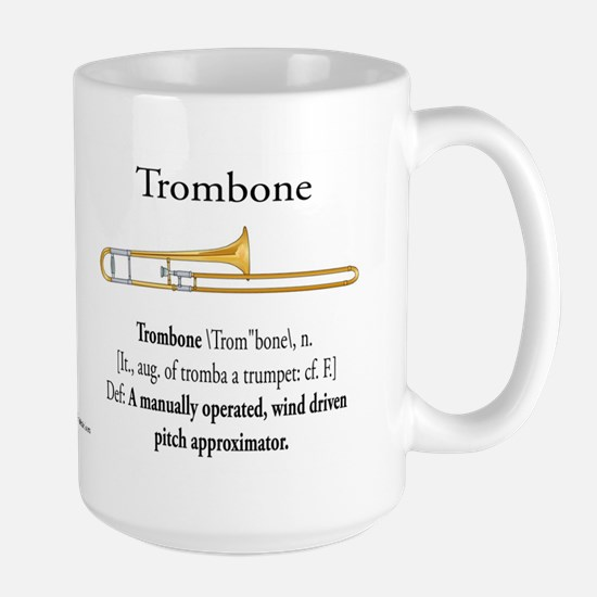 Trombone Pitch Approxomator Large Mug