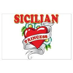 Sicilian Princess Posters