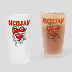 Sicilian Princess Drinking Glass