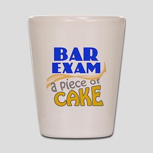 Bar Exam - Piece of Cake Shot Glass