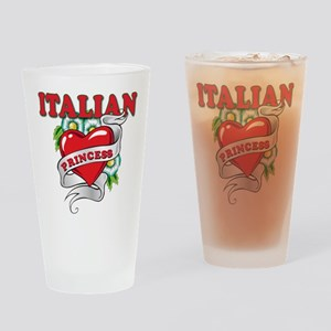 Italian Princess Pint Glass