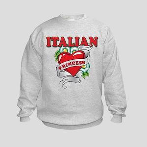 Italian Princess Kids Sweatshirt