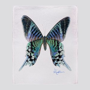 exotic butterfly Throw Blanket