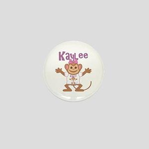 Little Monkey Kaylee Mini Button