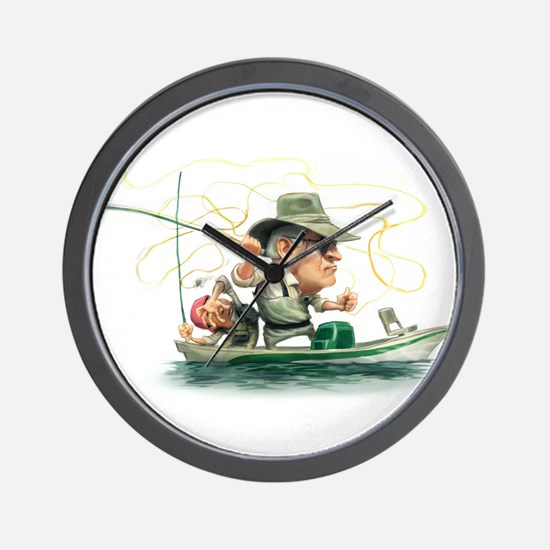 Unique Fishing Wall Clock